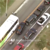 Watch This Driver Try To Take Down Multiple Cops While They Shoot His Car!
