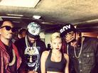 "BTS Photos: Video Shoot For Mike WiLL Made It's ""23"" With Juicy J, Wiz Khalifa & Miley Cyrus"