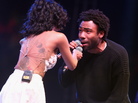 Jhene Aiko Brings Out Childish Gambino At Coachella