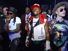 """Lil Wayne Performs """"Believe Me"""" For The First Time While Walking Floyd Mayweather To The Ring"""