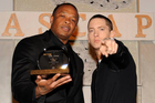 Eminem, Dr. Dre, Nas & More Perform At Beats By Dre Grammy Party