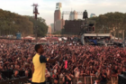 Meek Mill Brings Out Nicki Minaj & His Son At Made In America Fest