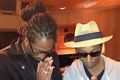 Pharrell and Future Spotted In The Studio