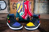 Custom Air Jordan 1 Honoring Magic Johnson, Michael Jordan And Larry Bird Released