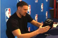 Warriors Now 27-0 In Games That Klay Thompson Has Played Since Signing A Toaster