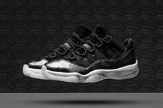 "Everything You Need To Know About The ""Barons"" Air Jordan 11 Low Release"