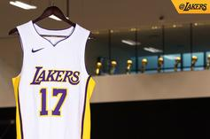 """Los Angeles Lakers Debut """"Association,"""" """"Icon,"""" + """"Statement"""" Nike Uniforms"""