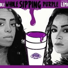 A Seat At The Table While Sipping Purple Lemonade