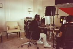 BTS Photos: Kanye West In The Studio With...