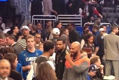 Drake & Common Spotted Together At NBA All-Star Game