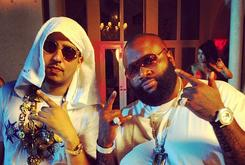 """BTS Photos: Video Shoot For French Montana's """"Pop Dat"""" Featuring Drake, Rick Ross & Lil Wayne"""