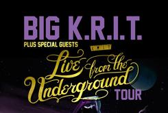 Big K.R.I.T. Adds Dates To Live From The Underground Tour