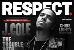 J. Cole Covers RESPECT Magazine With Dark Pic