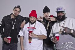 """BTS Photos: Video Shoot For French Montana's """"Diamonds"""" Featuring J. Cole & Rick Ross"""