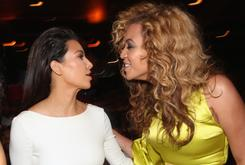 Kim Kardashian Says She Gets Along With Beyonce & Reveals Baby Due Date