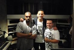 Kanye West And Will Smith Spotted In The Studio