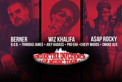 """Exclusive """"Under The Influence"""" BTS With Berner, Wiz Khalifa, A$AP Rocky, Trinidad James And More"""