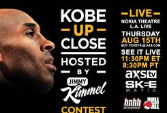 Kobe Bryant Up-Close Hosted by Jimmy Kimmel Ticket Giveaway