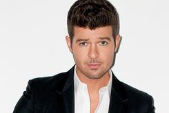 """Robin Thicke """"Reluctantly"""" Sues Marvin Gaye's Family Over """"Blurred Lines"""""""