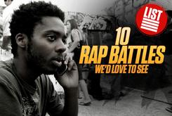 10 Rap Battles We Would Love To See