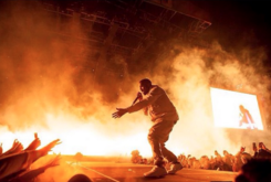 Kanye West Headlines Wango Tango Fest, Debuts New Merch