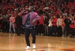 Kanye West Performed At Cavs/Bulls Game 4
