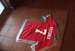 Virginia Beach Bar Using Colin Kaepernick's Jersey As A Doormat