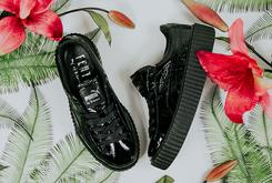 """Rihanna x PUMA Creeper """"Patent Leather"""" Reportedly Drops This Week"""