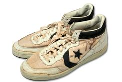 Michael Jordan's Game-Worn Converse Sell For Record Price