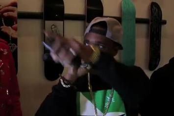 "Curren$y """"The Stoned Immaculate"" Listening Party"" Video"