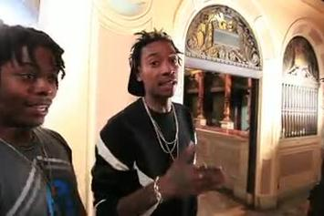 "Wiz  Khalifa ""Paperbound BTS"" Video"