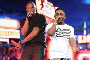 Dr. Dre Presents Kendrick Lamar With ASCAP's Vanguard Award