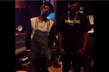 "Andre 3000 ""In Studio With Mike WiLL Made It"" Video"