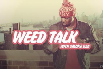 "WEED TALK With Smoke DZA: Blunts Vs. Papers, Favorite Strain, Being The ""KushedGod"" & More"
