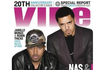 Nas & J. Cole Cover VIBE's 20th Anniversary Issue [Update: Pharrell & Daft Punk Cover VIBE]