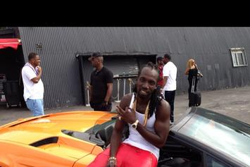 "BTS Photos: Video Shoot For Mavado, Nicki Minaj & DJ Khaled's ""Give It All To Me"""