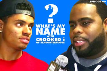 Crooked I Vs HotNewHipHop (What's my Name: Episode 40)