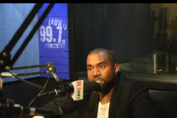 """Kanye West Says He Made $83,000 Off """"Yeezus"""" Tour Merch In One Day"""
