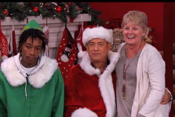 Wiz Khalifa Appears On Jimmy Kimmel Alongside Tom Hanks