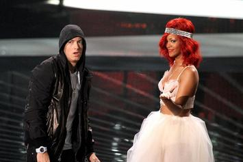 "Eminem & Rihanna Announce ""The Monster"" Tour Dates, ""MMLP2"" Goes Double Platinum"
