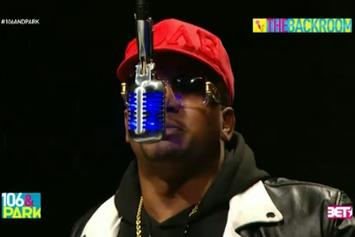 """CyHi The Prynce Freestyles On BET's """"The Backroom"""""""
