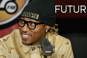 "Future Talks About ""Honest"", Ciara, & More With Angie Martinez"