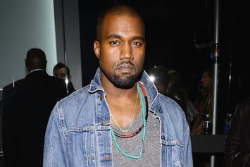 Kanye West Slinks In And Out Of Booking At LAPD Station