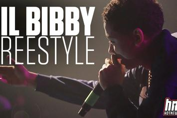 Lil Bibby Spits A Freestyle Live In New York