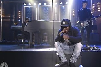"Alicia Keys & Kendrick Lamar Perform ""It's On Again"" On ""The Tonight Show"""