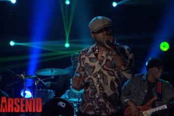 "Talib Kweli & RES Perform ""What's Real"" On Arsenio Hall"
