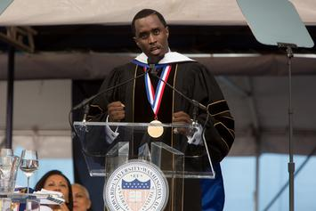 Diddy Reveals Cause Of His Father's Death During Howard University Commencement Speech