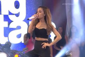 """Ariana Grande Performs """"Problem"""" On """"DWTS"""""""