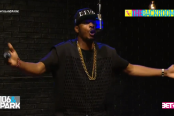 """King Los Freestyles On BET's """"The Backroom"""""""