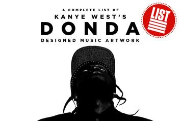 A Complete List Of Kanye West's DONDA-Designed Music Artwork
